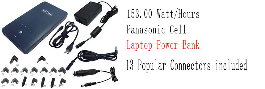 153watt/hours laptop power bank