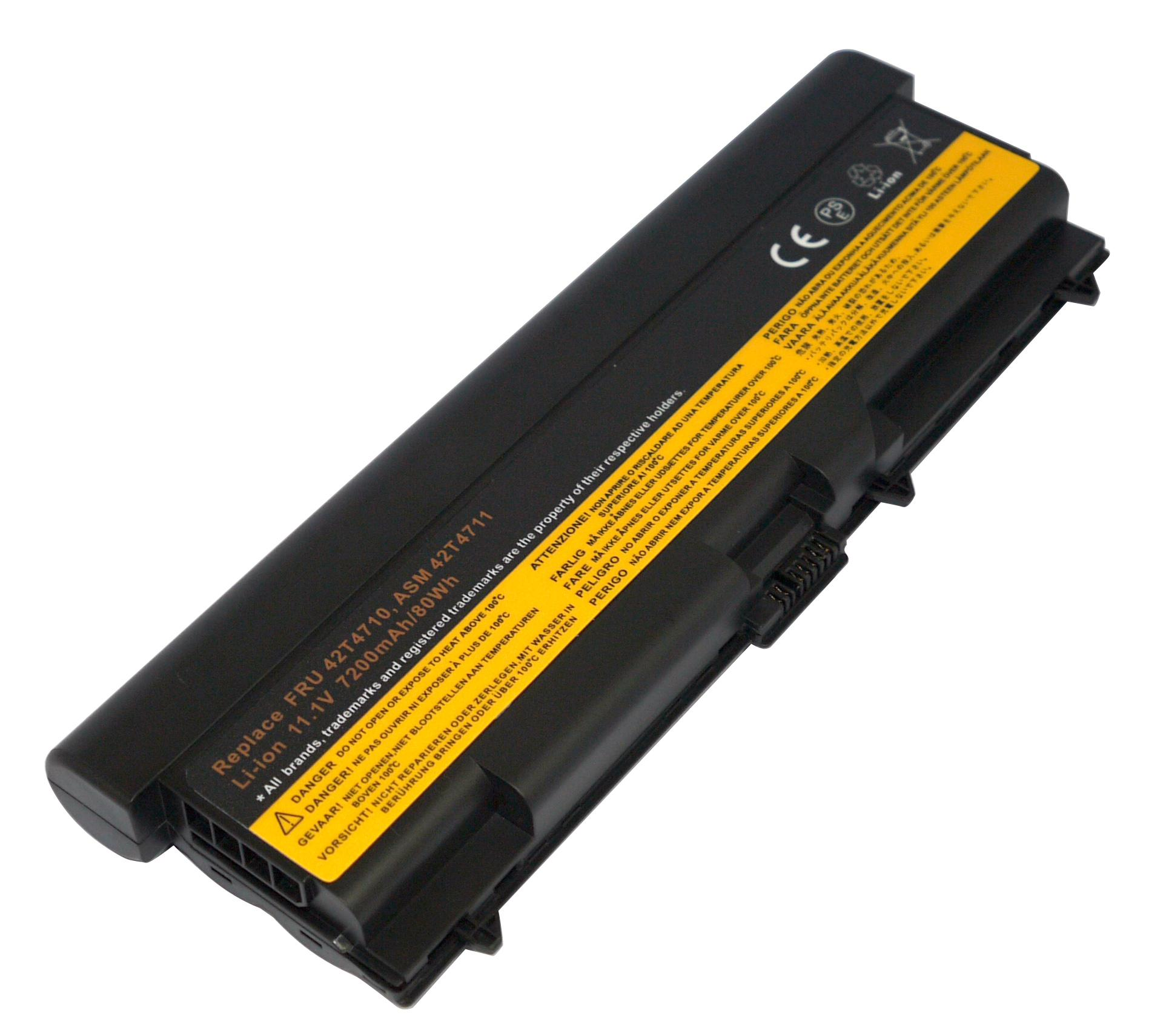 9 Cell Battery For Lenovo Thinkpad T410 T510 T420 42t4708
