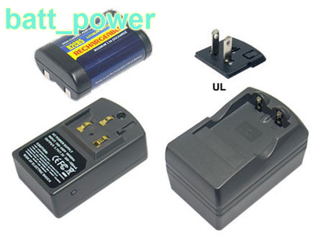 Battery Charger for PANASONIC 2CR5, 2CR5M, 2CR5MR, 5032GC, 5032LC, DL245, DL345, EL2CR5, EL2CR5BP, KL2CR5, RL2CR5