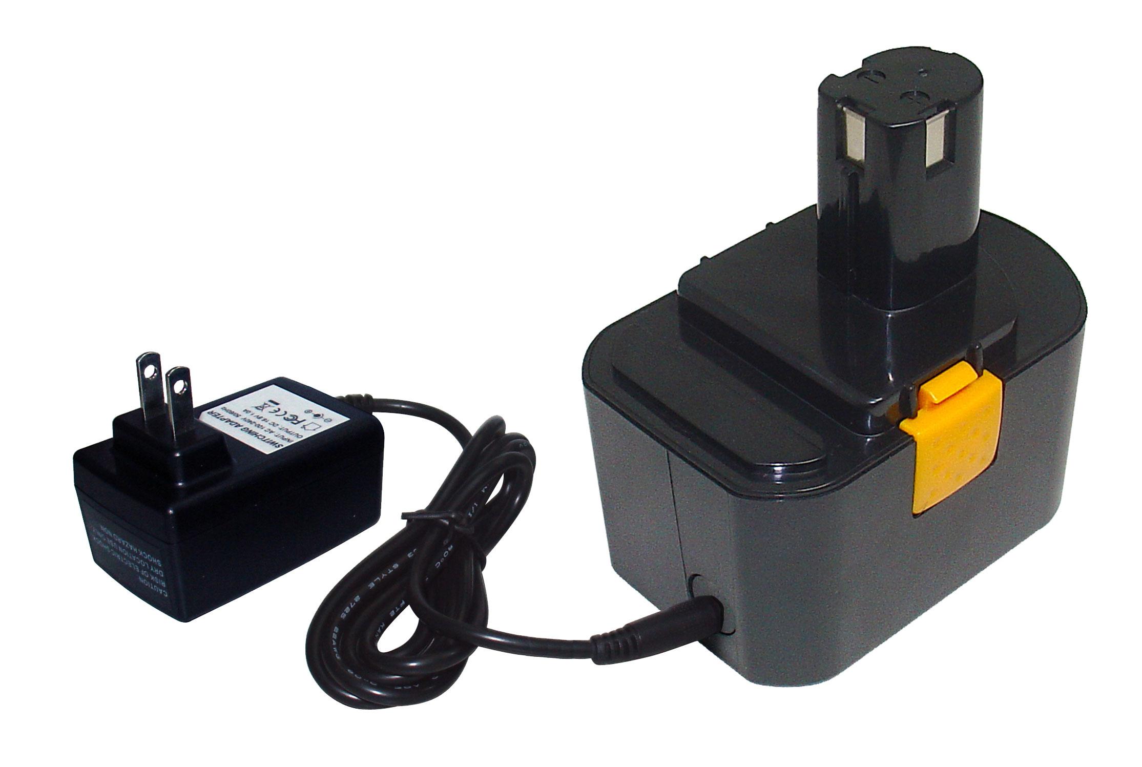 2 li ion 14 4v 1 5ah batteries charger for ryobi 130111073 130224010 130224011 ebay. Black Bedroom Furniture Sets. Home Design Ideas