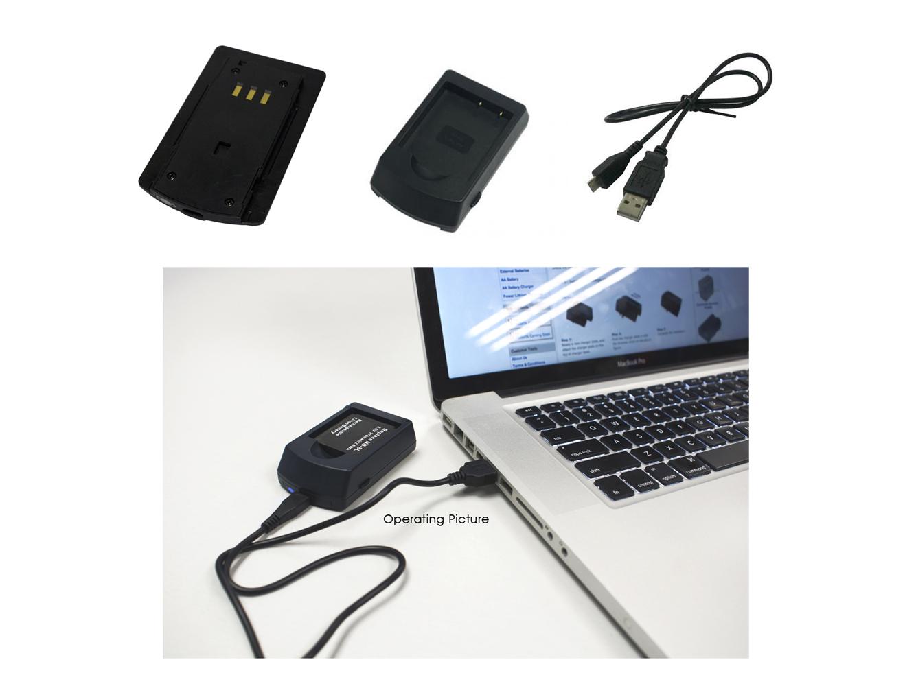 Fotocamera Cavo Cavo dati USB per Casio Exilim ex-fc300