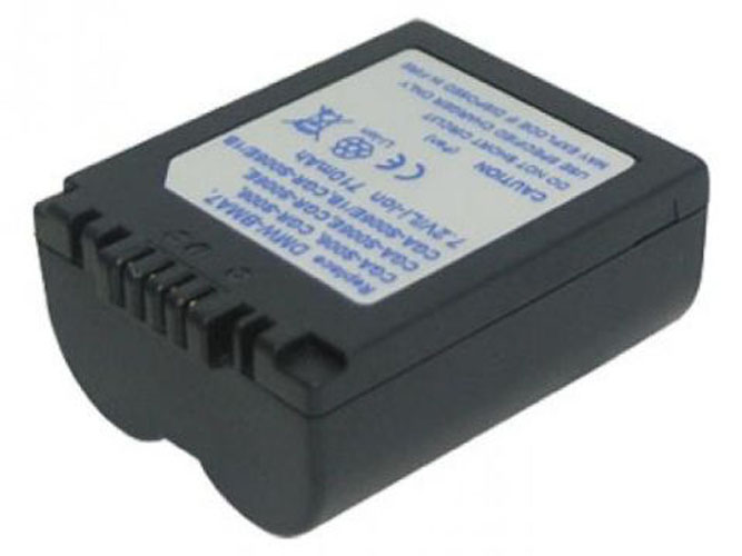 BATERIA para Panasonic Lumix dmc-fz18 serie 7,2v 710mah//5 1wh Li-ion azul oscuro