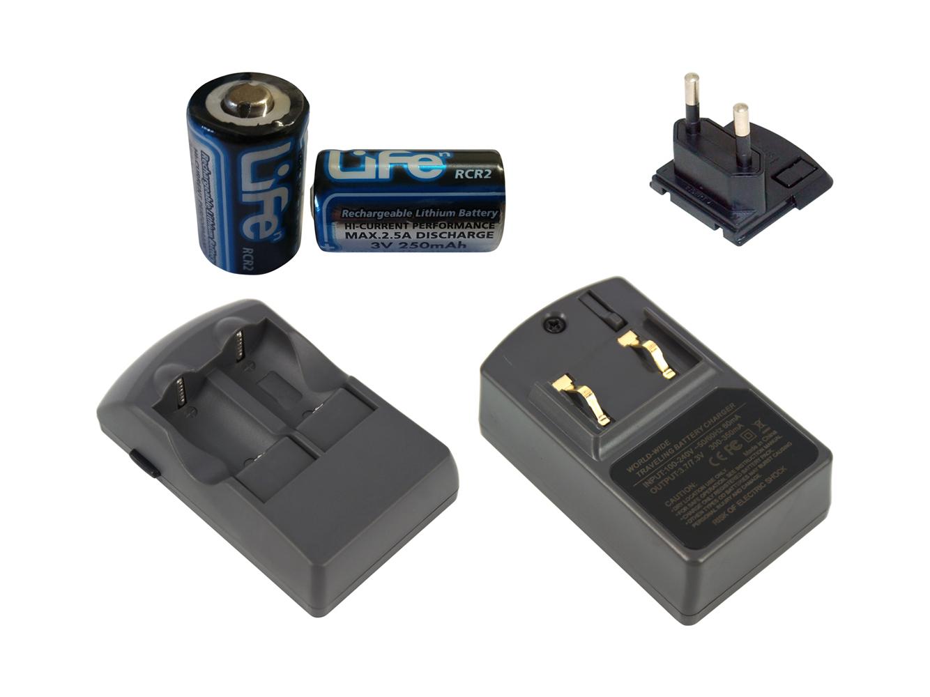 Batería estación de carga CARGADOR set para Leica C-Lux 2 C-Lux 3 accu Charger